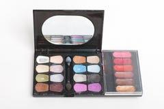 Used makeup set Stock Photos