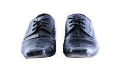 Used men shoes Stock Photography