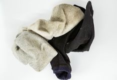 Used men socks Royalty Free Stock Images