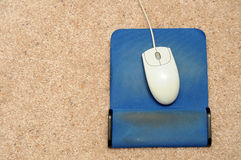 Used Mouse Pad Royalty Free Stock Photo