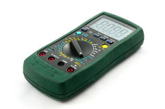 Used multimeter Royalty Free Stock Photo