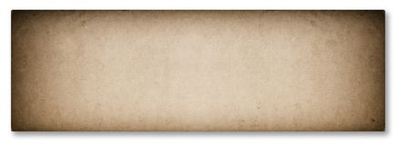Used news paper texture vignette isolated white background. Used news paper texture with vignette isolated on white background royalty free stock photography