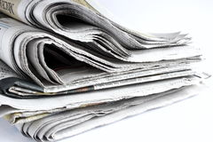 Used newspapers Stock Photos