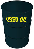 Used oil Royalty Free Stock Photo