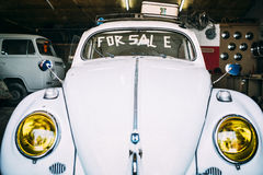 Used old car for sale Stock Image
