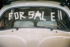 Used old car for sale Royalty Free Stock Photos