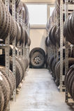 Used old car tires. Royalty Free Stock Photography