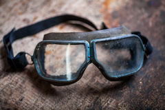 Used old goggles Royalty Free Stock Photo