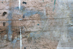 Used old wooden board Stock Photography