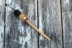 Used paintbrush Stock Photo