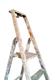 Used painter stepladder splashed Stock Images