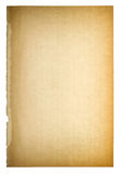 Used paper page texture. Vintage cardboard vignette Royalty Free Stock Photos