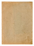 Used paper texture. Vintage cardboard background Stock Photography