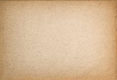 Used paper texture. Vintage cardboard with vignette Royalty Free Stock Photo