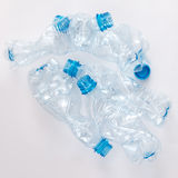 Used plastic bootles Royalty Free Stock Images