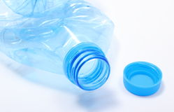 Used plastic bottle of mineral water Stock Photography