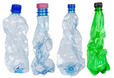 Used Plastic Bottles Royalty Free Stock Photos