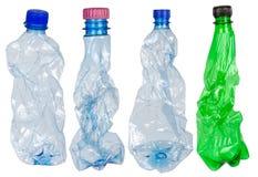 Used plastic bottles Royalty Free Stock Photos
