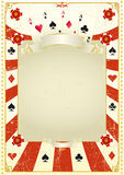 Used poker background Royalty Free Stock Photography