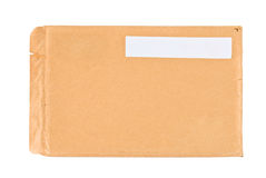 Used postal envelope Royalty Free Stock Image