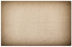 Used postcard mail Vintage paper background. Used antique postcard mail. Vintage paper background royalty free stock photos
