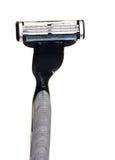 Used razor. Isolated on white background royalty free stock photos