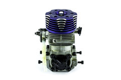 Used Rc helicopter engine Stock Images