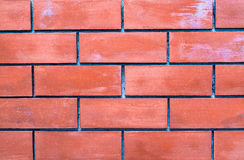 Used red brick wall Stock Photos