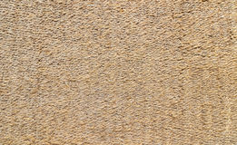 Used rice straw doormat Stock Photo