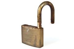 Used rusty padlock Royalty Free Stock Photos