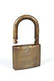 Used rusty padlock Stock Photo
