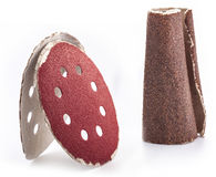 Used sandpaper Royalty Free Stock Images