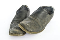 Used Shoes Stock Photo