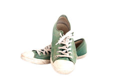 Used Shoes Royalty Free Stock Photos