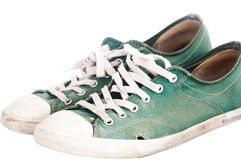 Used Shoes Royalty Free Stock Image