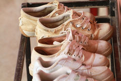 Used shoes Royalty Free Stock Photography