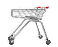Used shopping trolley Royalty Free Stock Images
