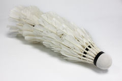 Used shuttlecock Royalty Free Stock Images