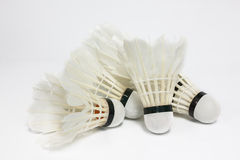 Used shuttlecock Royalty Free Stock Photography