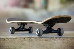 Used skateboard Stock Image