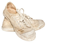 Used sneakers Stock Photography