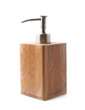 Used soap dispenser isolated Royalty Free Stock Image