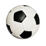 Used soccer ball Stock Photos
