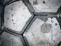 Used soccer ball Stock Photography