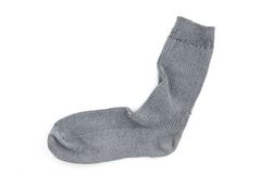 Used Sock Stock Photo