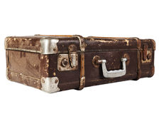 Used Suitcase Royalty Free Stock Photos