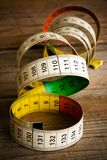 Used tape measure Stock Photo