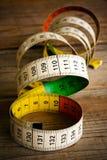 Used tape measure Stock Photo