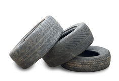 Used Tire Royalty Free Stock Photography
