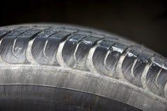 Used tire rim Stock Photo